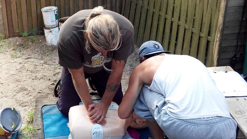 18.04.2021 - MFA Medic First Aid / Erste-Hilfe-Kurs 1