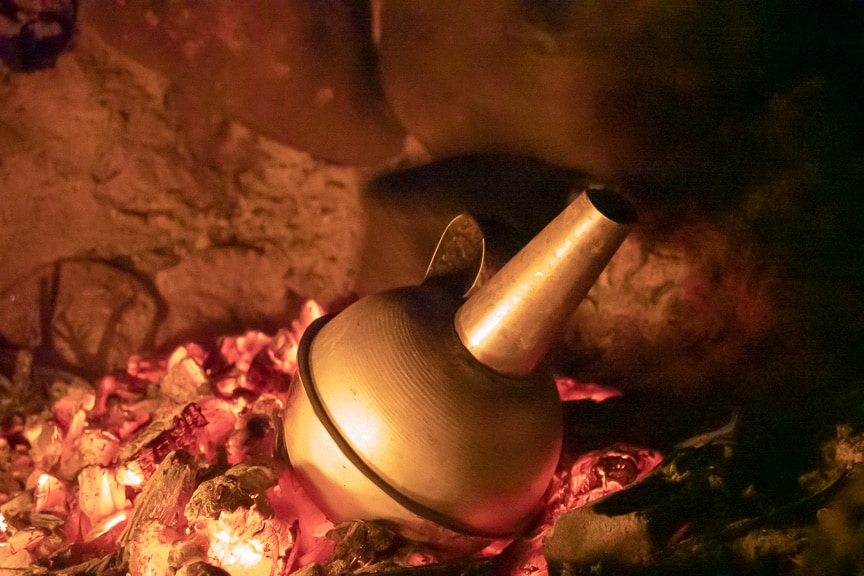 Traditionell zubereiteter Gabana