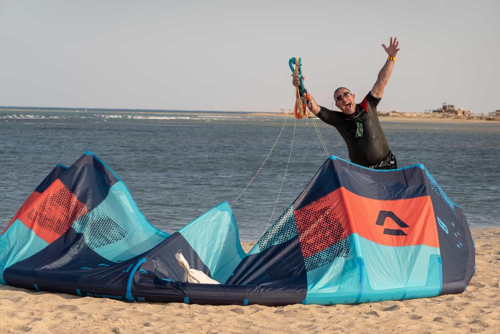 Duotone Rebel 2019 on beach