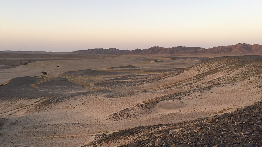 Quadtour-Wüstenpanorama
