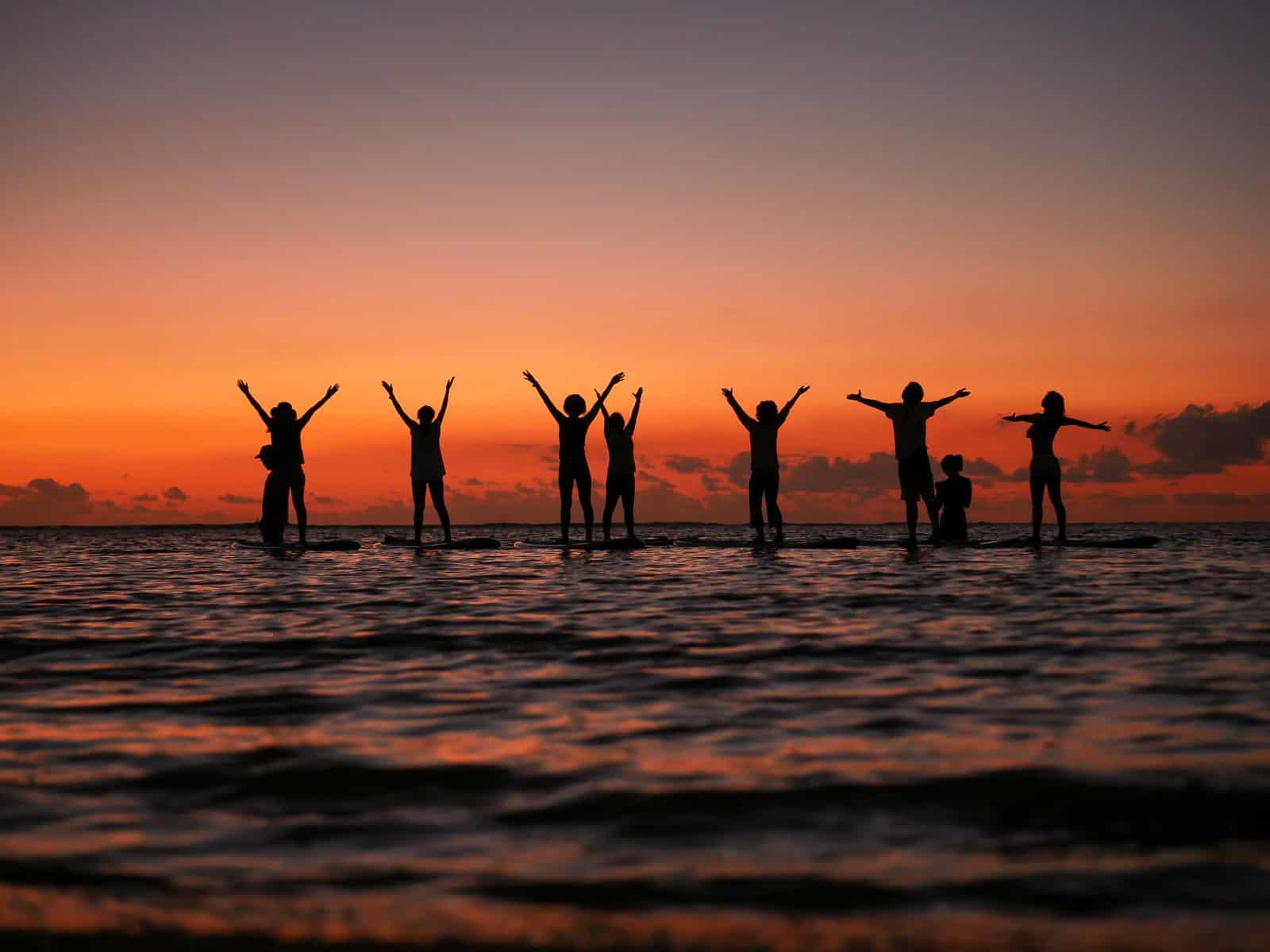 SUP Yoga Loissin Sunset