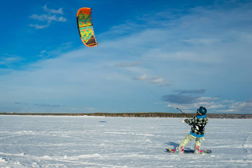 Lappland Snowkite-Camp 29.01.-09.02. 2022 1